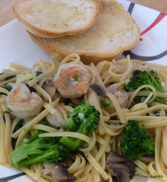 Shrimp Linguine