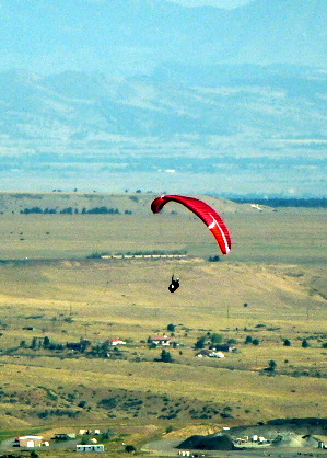 Paragliding Golden Colorado