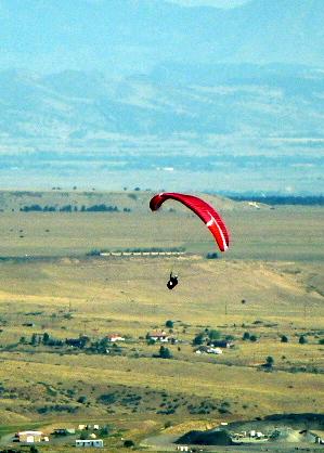 Paragliding Golden Colorado