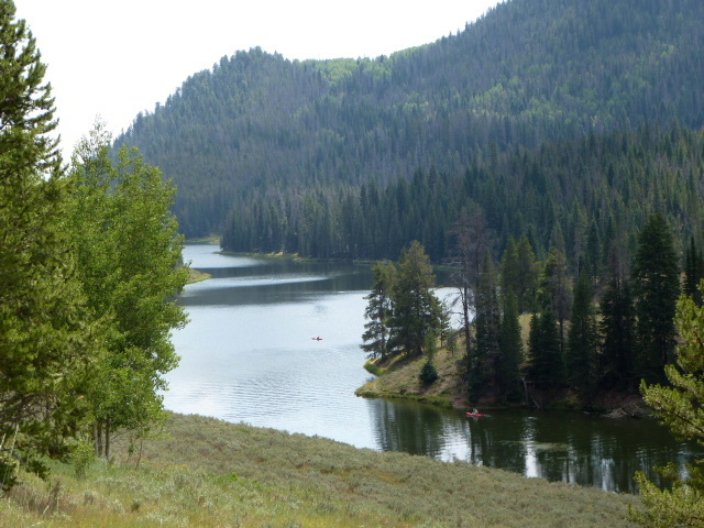 Hahns Peak Lake