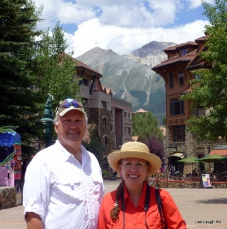Telluride Colorado, travel gear, full-time RVing