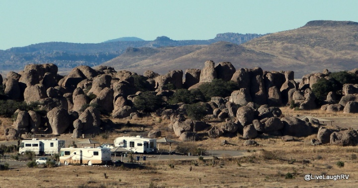RVing in New Mexico