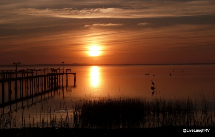 sunrise across the Gulf
