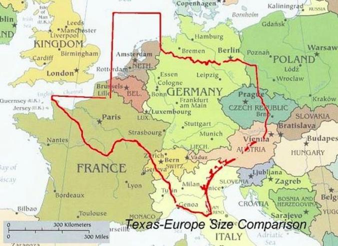 How big is Texas