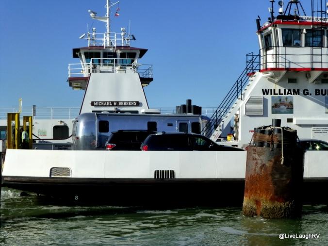ferry a RV