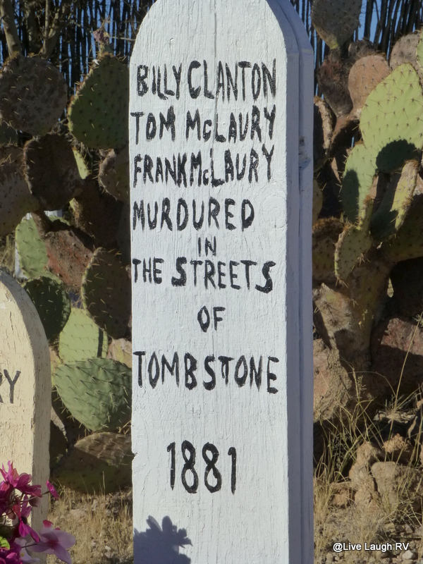 Tombstone graveyard cemetery