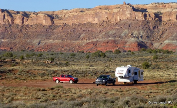 boondocking Moab Utah