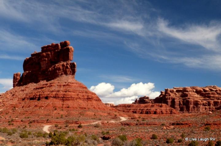 sandstone red rock formations in Utah