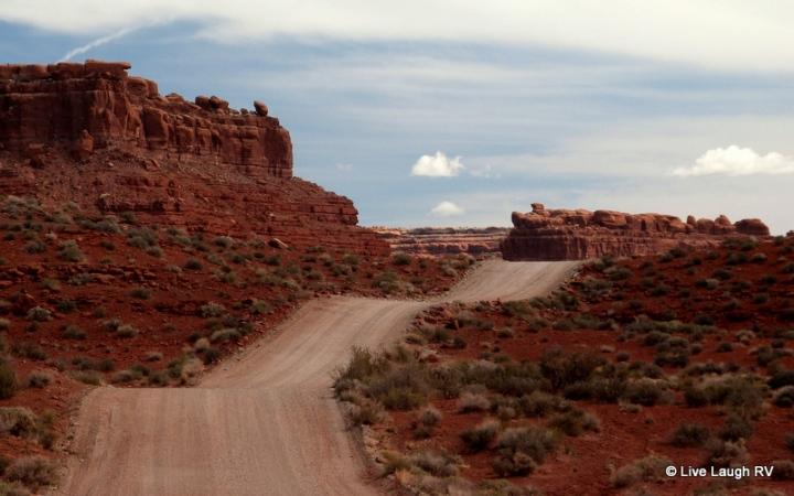 boondocking dispersed camping in Utah