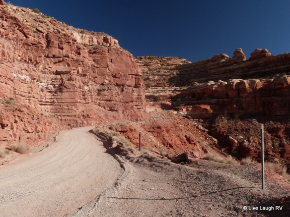 scenic road in Utah