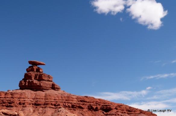 Camping near Mexican Hat Utah
