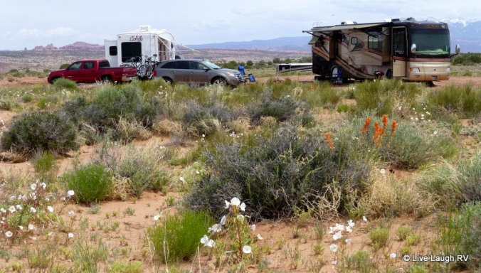 boondocking RVing