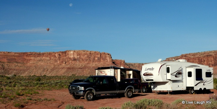 dry camping