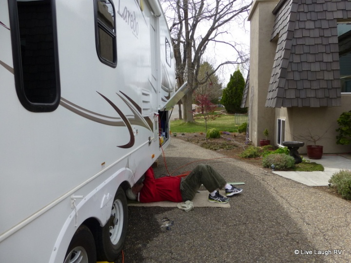 RV water lines