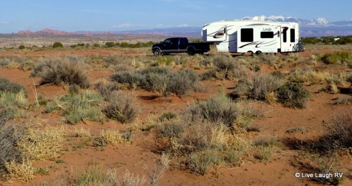 dry camping boondocking