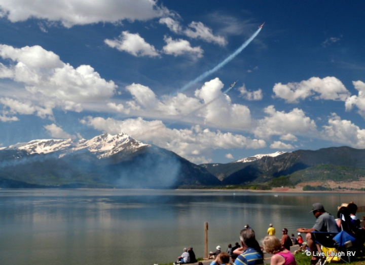 lake dillon air show