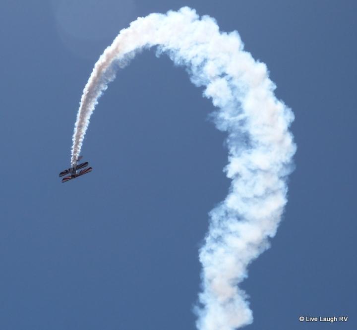 Dillon Colorado biplane air show