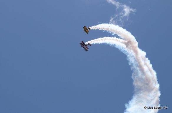 biplanes Dillon air show