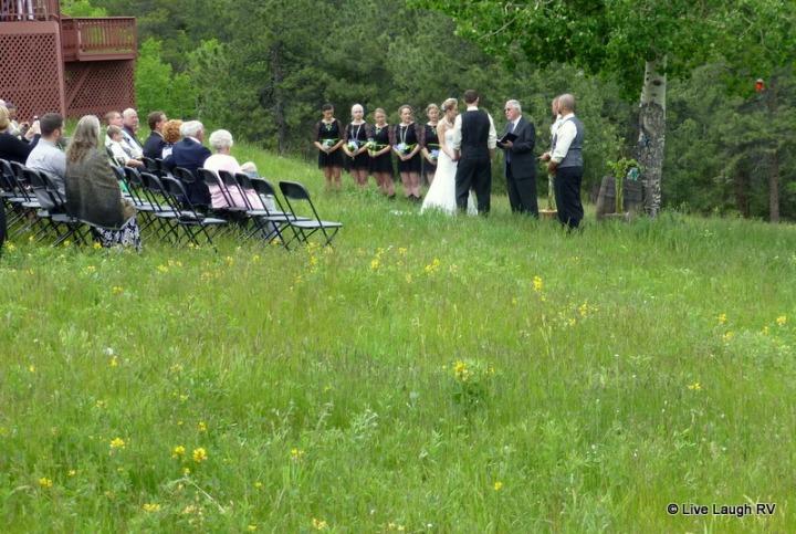 Colorado outdoor wedding