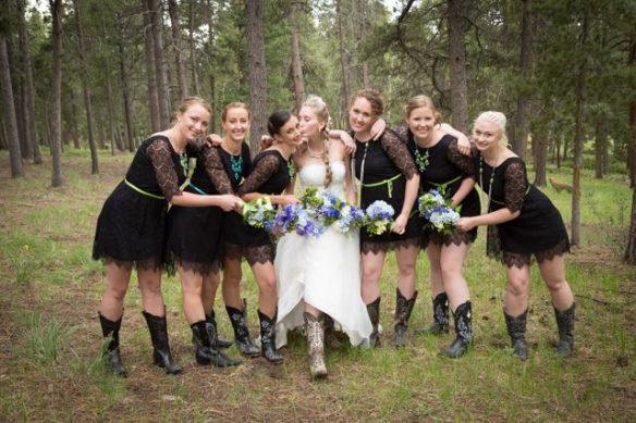 Colorado mountain themed wedding