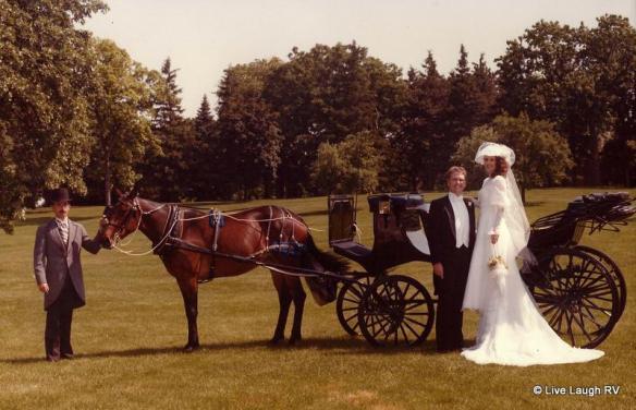 romantic themed outdoor wedding