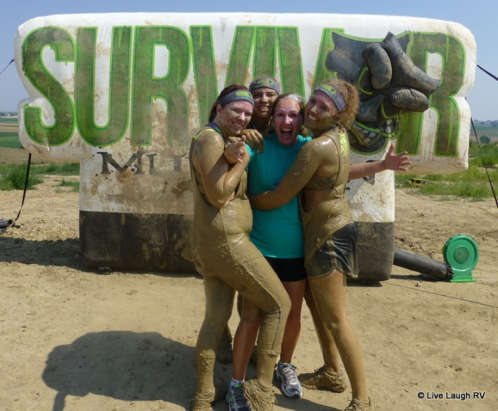 5K survivor mud run