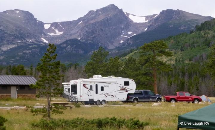 Glacier Basin Campground Colorado