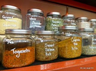 Gourmet spice shop