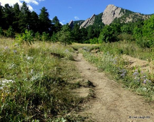 Boulder trails
