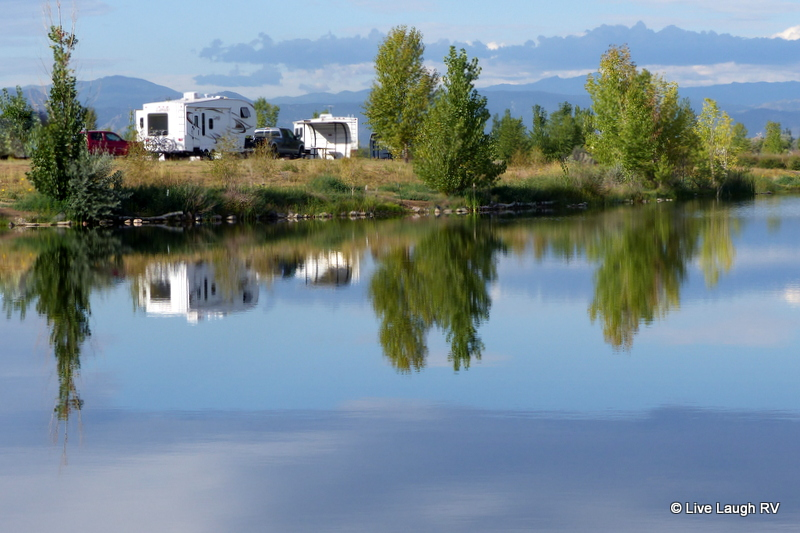 St Vrain State Park Live Laugh Rv