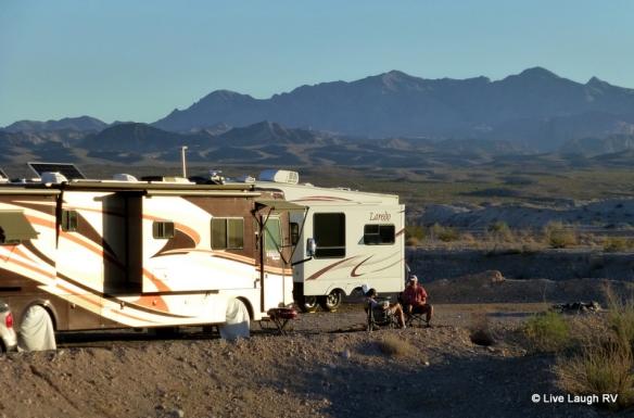 camping in Las Vegas