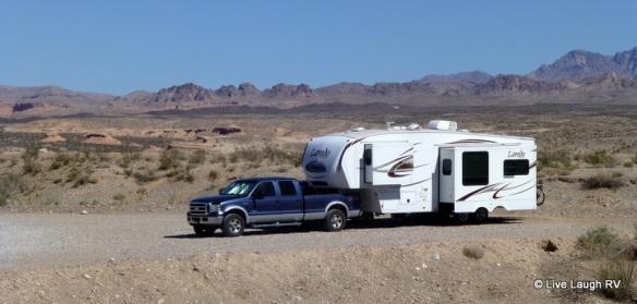 free camping near Las Vegas Nevada