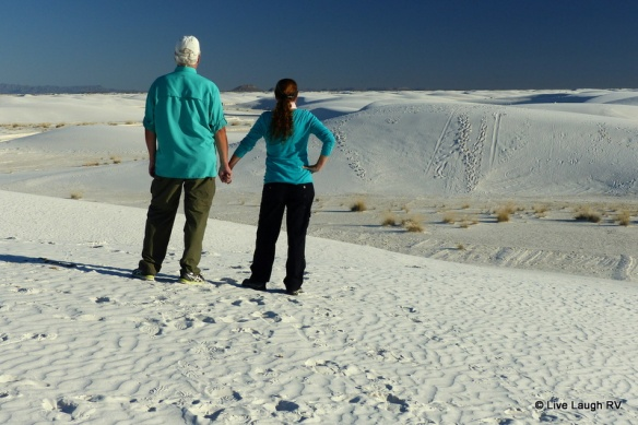 White Sands dunes