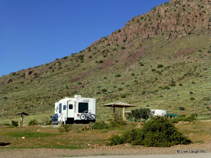 RV in New Mexico