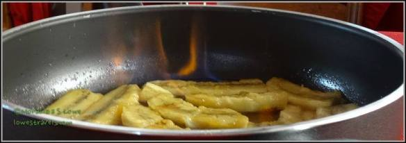 Bananas Flambe