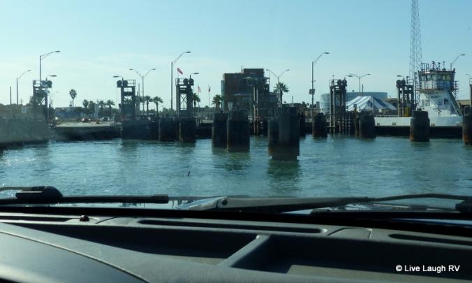 Texas Dept of transportation ferry