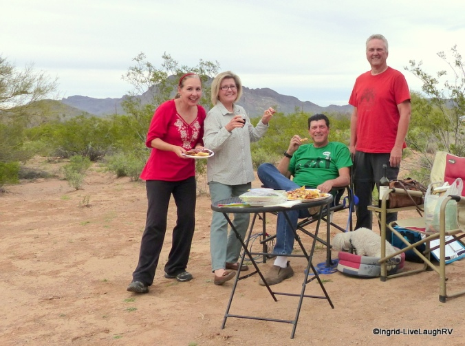 boondocking with friends