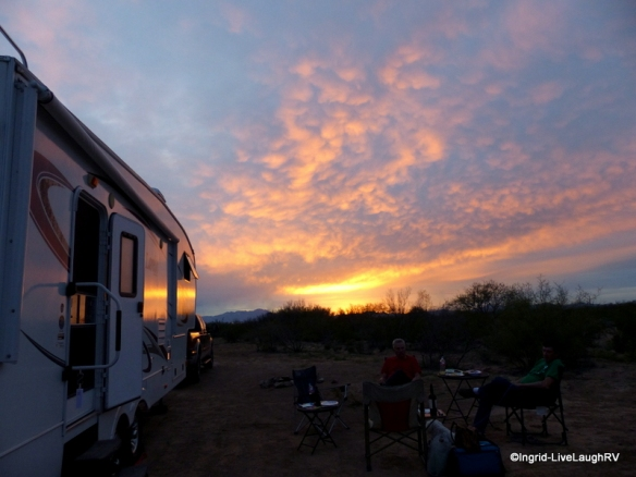 boondocking dry camping