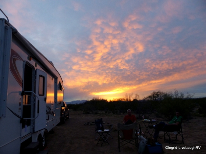 boondocking dry camping