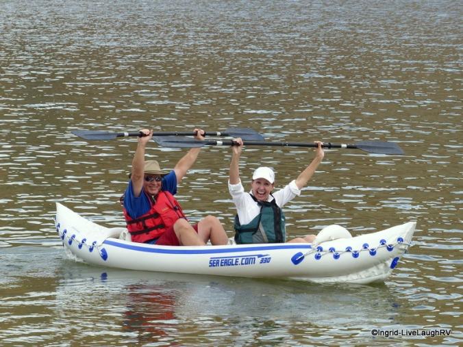 inflatable kayaks
