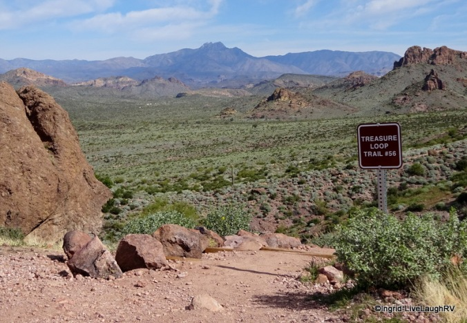 hiking trails Tonto National Forest