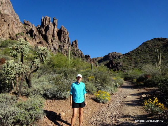 Superstition Wilderness trails