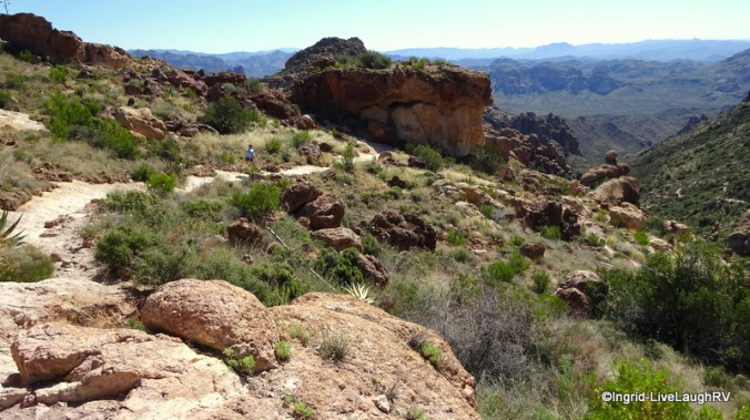 hiking the Superstitions