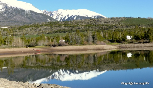 Camping near Breckenridge Colorado