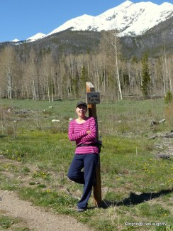 hiking near Breckenridge