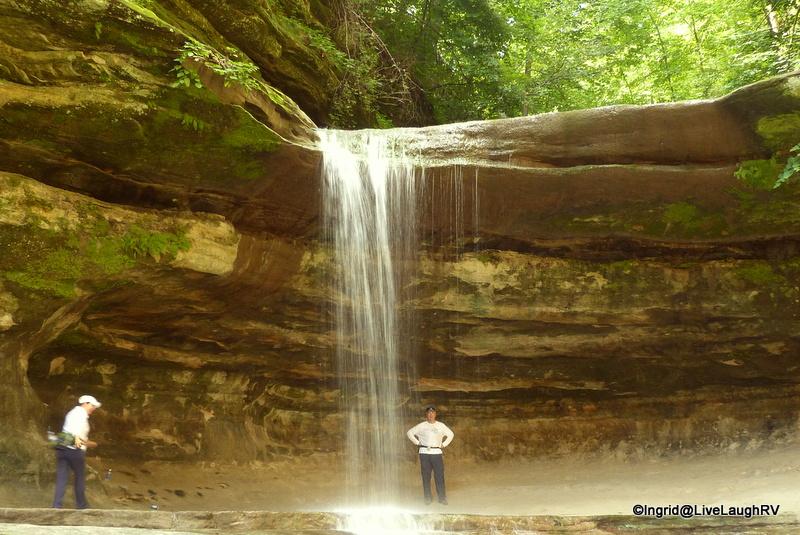 waterfalls in Illinois