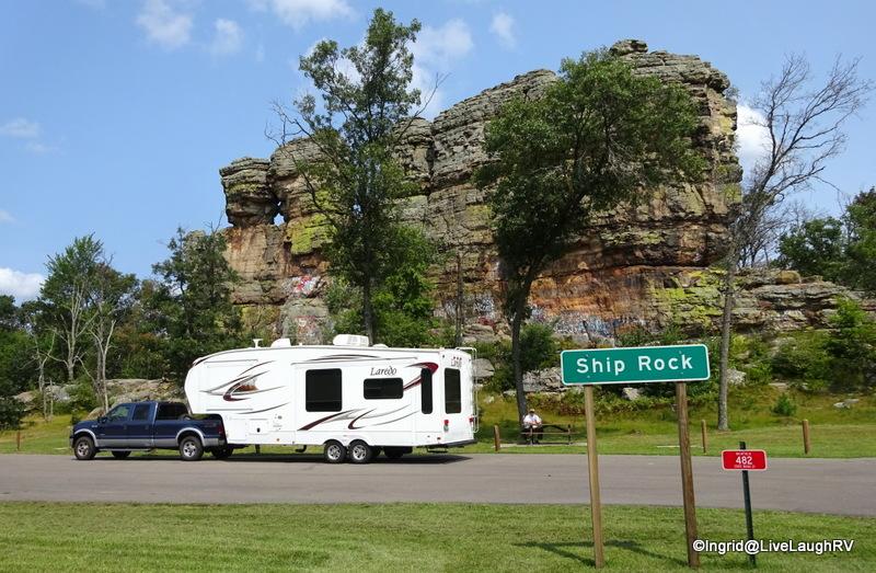 Ship Rock Wisconsin