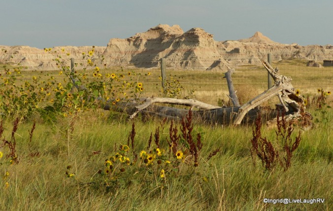 South Dakota, Badlands