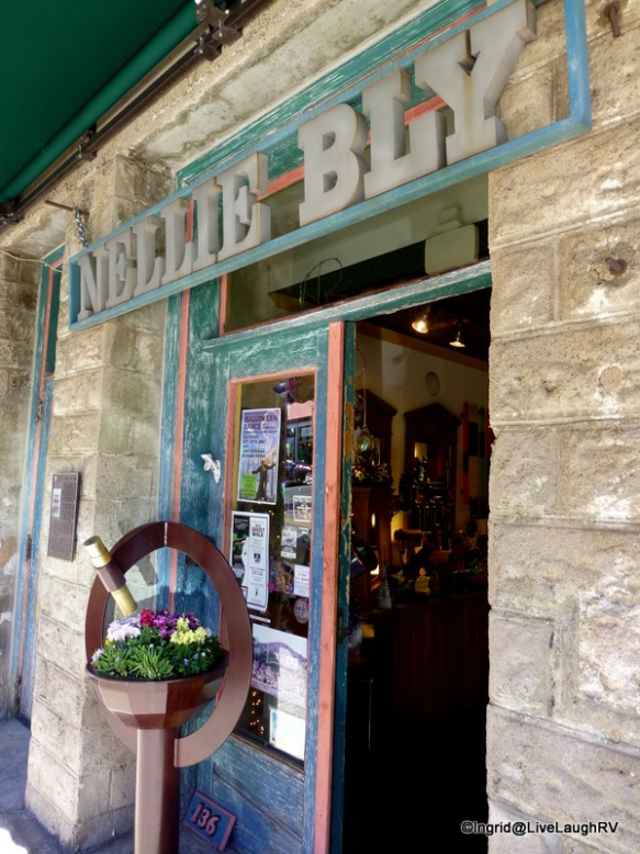 Be sure and stop in at Nellie Bly