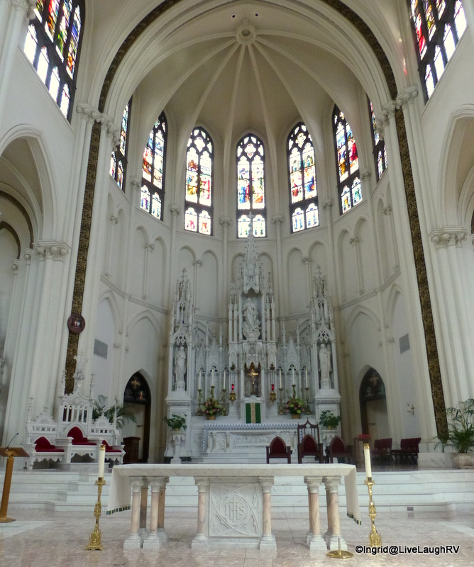 Inside Cathedral Basilica